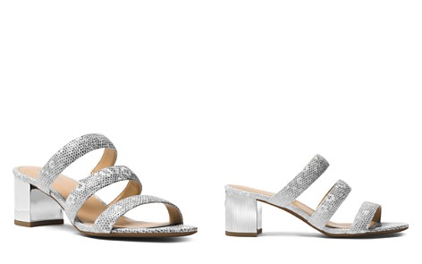 MICHAEL Michael Kors Women's Paloma Embossed Leather Flex Slide Sandals - Bloomingdale's_2